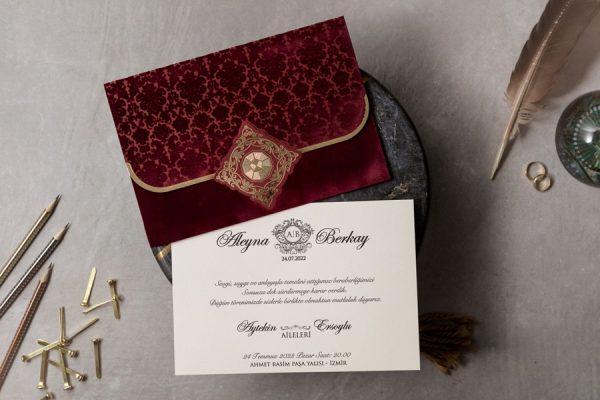 Wedding Davetiye 8310