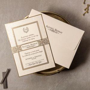 Wedding Davetiye 8380