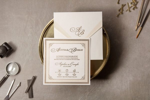 Wedding Davetiye 8382