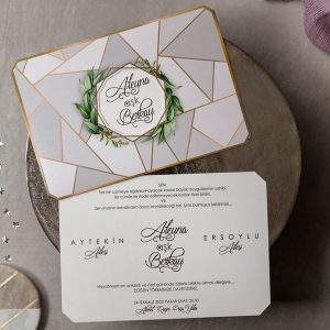 Wedding Davetiye 8432