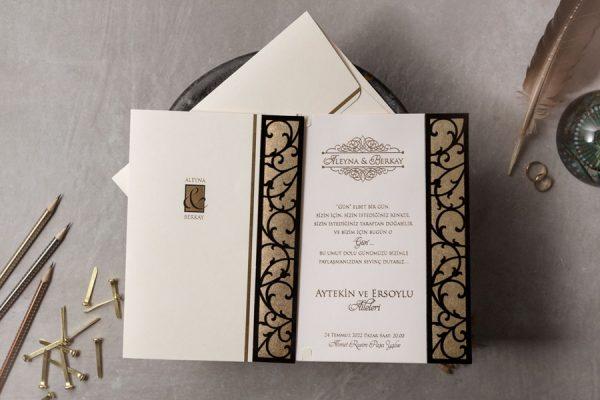 Wedding Davetiye 8435
