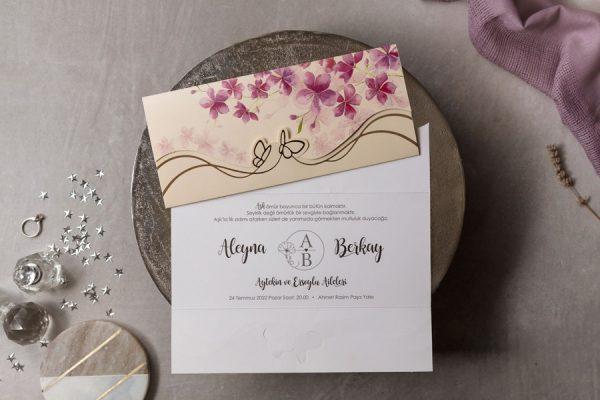 Wedding Davetiye 8453